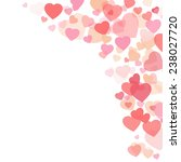 valentines day background with...   Shutterstock .eps vector #238027720
