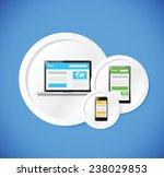web responsive technology... | Shutterstock .eps vector #238029853
