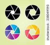 shutter vector  camera... | Shutterstock .eps vector #238049593