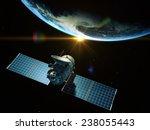 Satellite Is Orbiting Around...