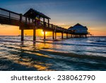 Fishing Pier In The Gulf Of...