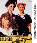 world war ii  'soldiers without ... | Shutterstock . vector #238065133