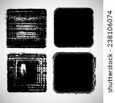 vector grunge squares... | Shutterstock .eps vector #238106074