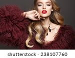 glamour portrait of beautiful... | Shutterstock . vector #238107760