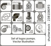 set of logo templates in the... | Shutterstock .eps vector #238108093