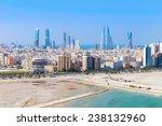Bird View Of Manama City ...