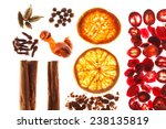 christmas spices | Shutterstock . vector #238135819