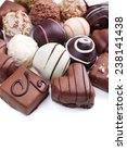 chocolate sweet collection... | Shutterstock . vector #238141438