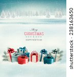 holiday christmas background... | Shutterstock .eps vector #238163650