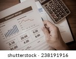 showing business and financial... | Shutterstock . vector #238191916