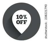 10  sale pointer tag sign icon. ...