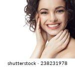 closeup portrait of attractive  ... | Shutterstock . vector #238231978