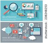seo optimization  programming...   Shutterstock .eps vector #238248253