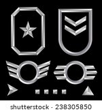 beveled shield crest emblem... | Shutterstock .eps vector #238305850