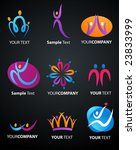 collection of human icons   2 | Shutterstock .eps vector #23833999