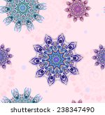 ornament beautiful pattern with ... | Shutterstock .eps vector #238347490