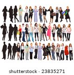 some persons are concealed | Shutterstock . vector #23835271