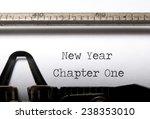 new year  new start concept  | Shutterstock . vector #238353010