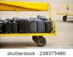 Yellow Trolley Loaded With...