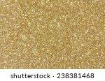 golden glitter texture... | Shutterstock . vector #238381468