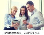business and office concept  ... | Shutterstock . vector #238401718