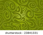 floral background  green | Shutterstock .eps vector #23841331