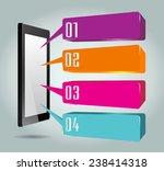 business technology bubble... | Shutterstock .eps vector #238414318