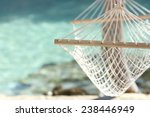 travel concept with a hammock... | Shutterstock . vector #238446949
