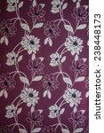 flowers wallpaper design on wall   Shutterstock . vector #238448173