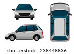 a vehicle on a white background | Shutterstock .eps vector #238448836