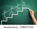 team work for success ... | Shutterstock . vector #238457194