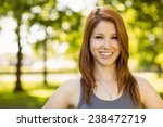 Portrait Of A Pretty Redhead...