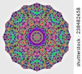 abstract flower. creative... | Shutterstock . vector #238482658