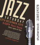 jazz festival poster   Shutterstock .eps vector #238519378