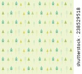 green christmas pattern with... | Shutterstock .eps vector #238529518