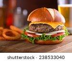 a delicious gourmet... | Shutterstock . vector #238533040