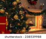 3d rendering new year interior... | Shutterstock . vector #238539988
