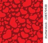 valentin seamless pattern ... | Shutterstock .eps vector #238570438