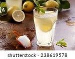 preparation of the lemonade... | Shutterstock . vector #238619578