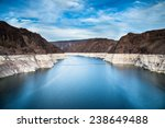 Hoover Dam And Lake Mead In La...
