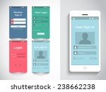 different mobile screens ui  ux ...