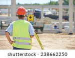Portrait Of Builder Worker Wit...