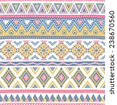 seamless vector geometric... | Shutterstock .eps vector #238670560