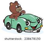Car And Bear