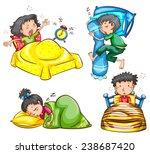 illustration of children... | Shutterstock .eps vector #238687420