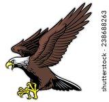 flying eagle | Shutterstock .eps vector #238688263