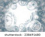 gears background  vector... | Shutterstock .eps vector #238691680