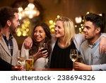 group of friends enjoying... | Shutterstock . vector #238694326