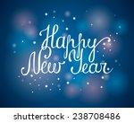 happy new year   vector... | Shutterstock .eps vector #238708486