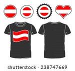 an austrian businessman rips...   Shutterstock .eps vector #238747669